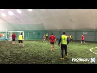 FOOTBIC.RU. Видеообзор 10.02.2017 (Метро Марьина Роща). Любительский футбол