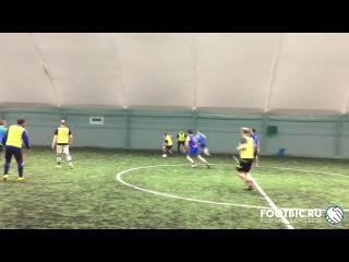 FOOTBIC.RU. Видеообзор 6.02.2017 (Метро Марьина Роща). Любительский футбол