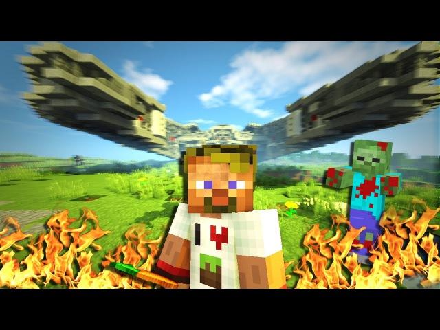01. Крушение КОСМИЧЕСКОГО корабля - Lp.Выживший (Minecraft Lets Play)