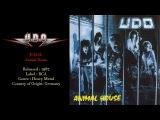 U.D.O. - Animal House (1987) Full Album