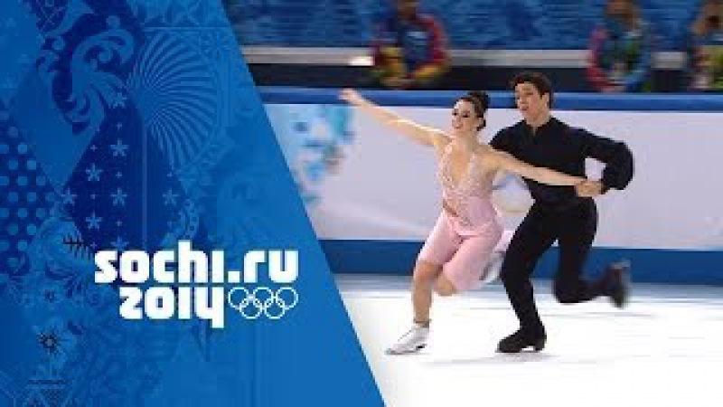 Tessa Virtue Scott Moir Full Silver Medal Free Dance Performance Sochi 2014 Winter Olympics