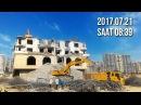 Sovetski də 16 mərtəbəli bina söküldü 🏬🏢🏤