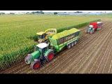 Maize Silage Race 2016  NH FR9050 - Krone ZX560 - JD 7280R - FENDT 939936  Immink Aalsmeer