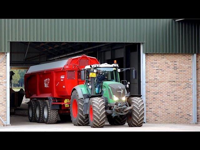 Harvesting Potatoes | 2x AVR Puma 3 FENDT 939 828 tractors | vd Borne Aardappels