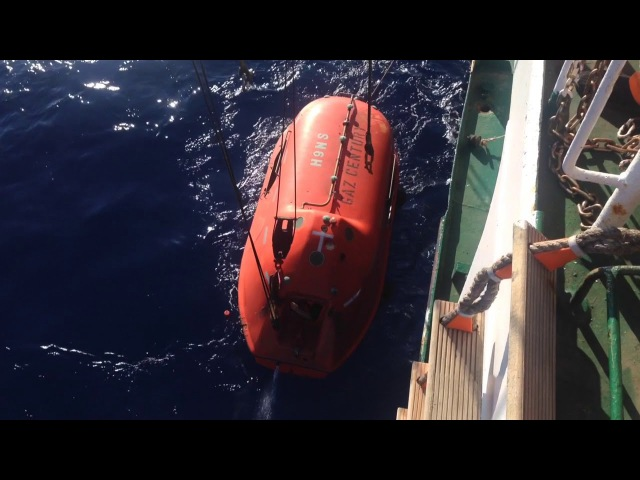 Real shipwreck,rescue operetion and salvage of fishermens after collision with another ship