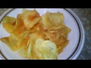 Домашние чипсы с паприкой-Оочень вкусные/Homemade chips with paprikoy- Oochen delicious /