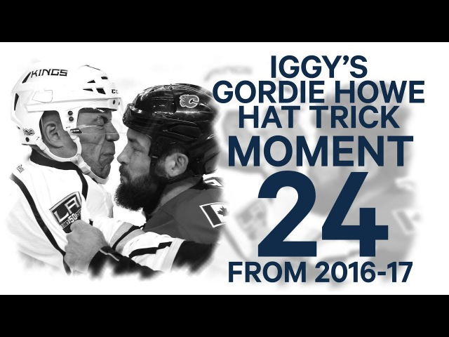 НХЛ. Одиннадцатый хет-трик имени Горди Хоу от Джерома Игинлы (30.03.17)