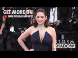 Marion Cotillard on the red carpet for the 70th Anniversary of the Cannes Film Festival.