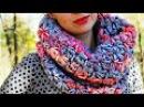 Снуд крючком простой СНУД мастер класс своими руками knitting вязание how to crochet handmade
