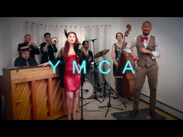 YMCA (The Village People) 1920s Ragtime Tap Cover by Robyn Adele ft Gerson Lanza