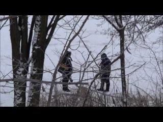 Зима, Январь, Жизнь реки, Рыбаки, Лебеди, Дикие утки