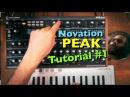 Novation Peak Sound Design Tutorial 1 in 4k