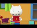 Мультфильмы про котенка - Любимые мультики малышей. Все серии подряд. Развивающие мультфильмы.