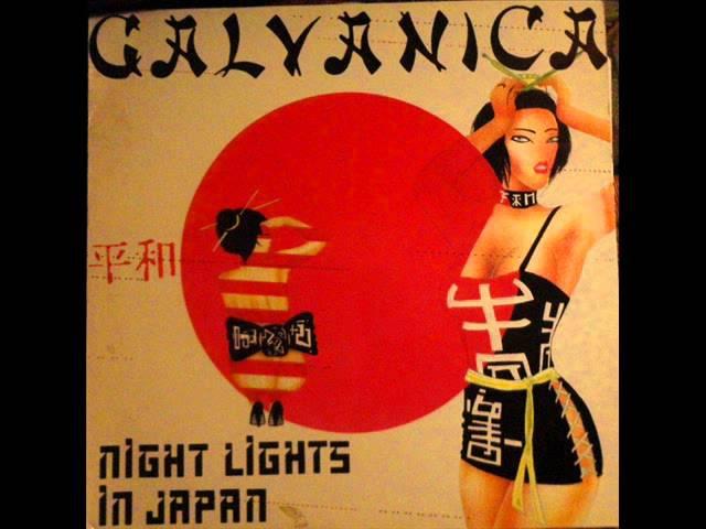 Galvanica Night Lights In Japan Geisha Version Synth Pop