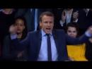 Macron-hurle