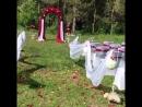 Выездная регистрация база отдыха Громотуха Оформление Студия декора Красивая Идея