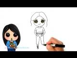 How to Draw Zendaya - Disneys K.C. Undercover