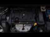 Стук на холодную в минусовую погоду Peugeot 307