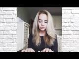Эндшпиль - Малиновый рассвет (cover by izachonok),красивая девушка классно спела кавер,крутой голос,шикарно поёт,поёмвсети