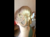 Прическа+макияж для Лилии на фотосессию.