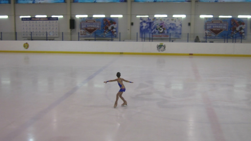 Виталина, 2место, Счастливый лед,17