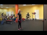 Тренировка груди, ног, спины, рук, плеч