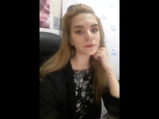 Ксюшка Вдовина - Live