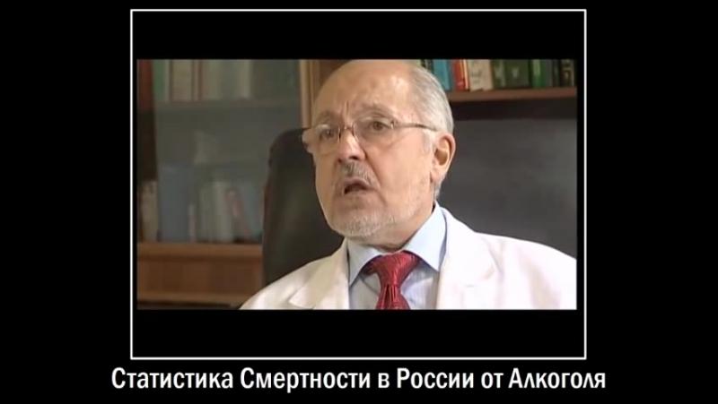 Статистика Смертности в России от Алкоголя (Клиника Хиллера)