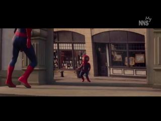 Прикольный танец Человека-паука с рекламы