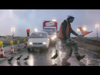 Сможешь ли ты прожить день так же, как это сделал дорожный рабочий?
