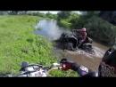 SJcam Enduro vs ATV Riding the Forest and Having Fun in the Mud