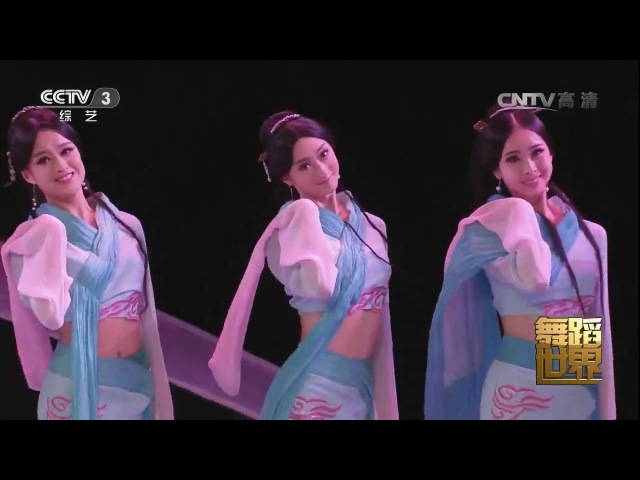 Beautiful Chinese Classical Dance【5】《采薇舞》B-720p