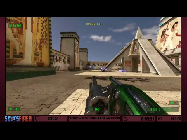 Serious Sam HD: The First Encounter (Any% Normal) in 37:30 by Tezur0 - Shots Fired: Devastation