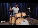 Pearl Masterworks Sonic Select Studio Drum Set 22/10/12/16 - Natural Flame Maple