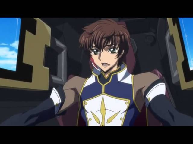 Code Geass Suzaku Kururugi vs Bismarck Waldstein