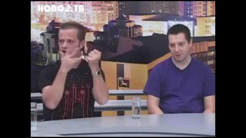 В гостях Первой студии группа Технология (2011г.)