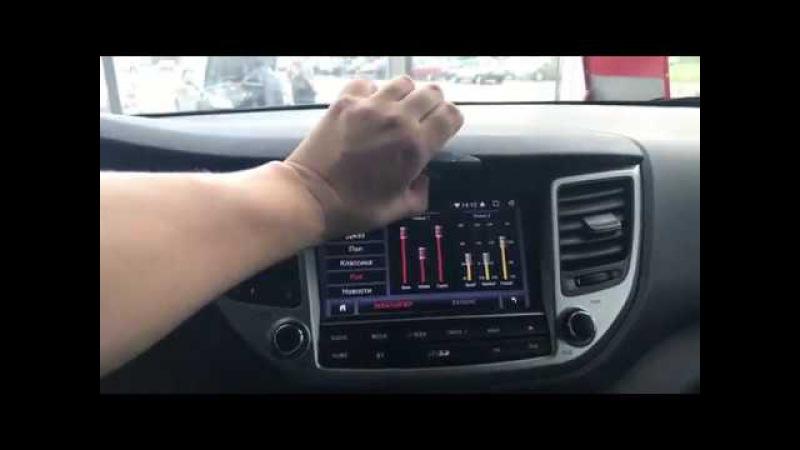 Установка магнитолы MegaZvuk AD-8101 Hyundai Tucson 2015 на Android 6.0.1