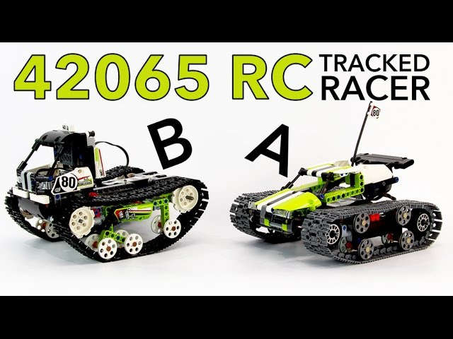 ШУСТРЫЙ МАЛЫШ 2в1! Обзор LEGO Techic 42065 RC Tracked Racer