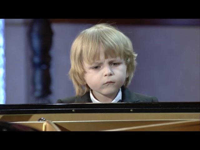 Елисей Мысин Астана полуфинал 6 лет Astana Piano Passion
