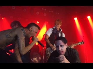 Marilyn Manson, Johnny Depp and Ninja - THE BEAUTIFUL PEOPLE