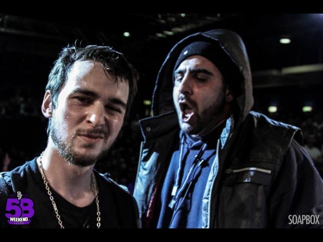 DIZASTER OSHEA VS PHILLY SWAIN PEDRO | Don't Flop Rap Battle