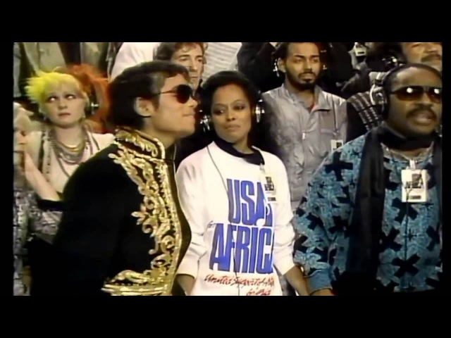 USA for Africa We Are The World Original Music Video 1985