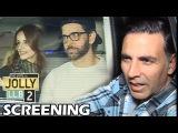 Jolly LLB 2 Screening   Akshay Kumar, Hrithik Roshan, Twinkle Khanna