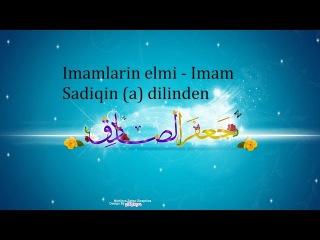 Imamlarin elmi - Imam Sadiqin (a) dilinden