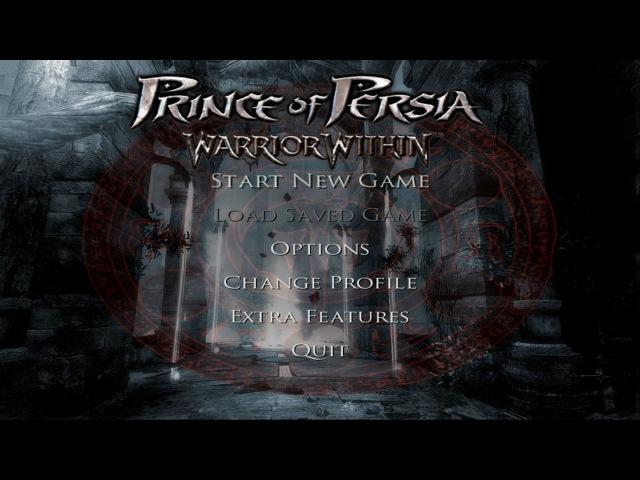 Prince of Persia: Warrior Within (2004) - main menu [ULTRA HD]