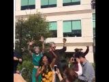 Tim Cook, Phil Schiller, Eddy Cue Dancing To Pharrell Williams 'Happy' 2017 Apple