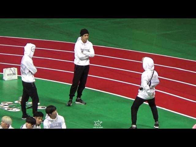 170116 아육대 방탄소년단 진 지민 뷔 댄스 메들리