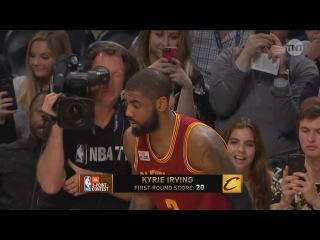 Kyrie Irving - Round 2   Three-Point Contest   2017 NBA All-Star Saturday Night
