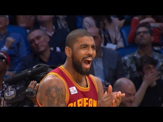 Kyrie Irving - Round 1   Three-Point Contest   2017 NBA All-Star Saturday Night