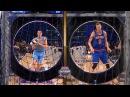 Nikola Jokic vs Kristaps Porzingis - Round 2   Skills Challenge   2017 NBA All-Star Saturday Night